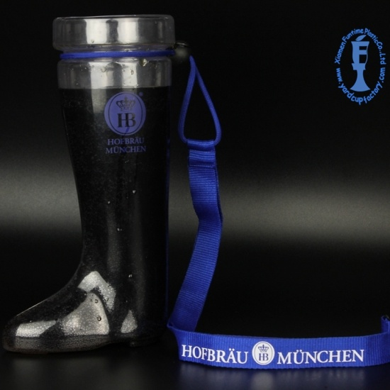 800ml Plastic Das Beer Boots Cups